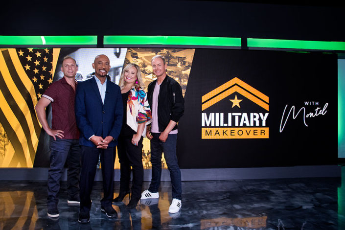 Debra Somerville Photography for Montel Williams show for Military Mackeover