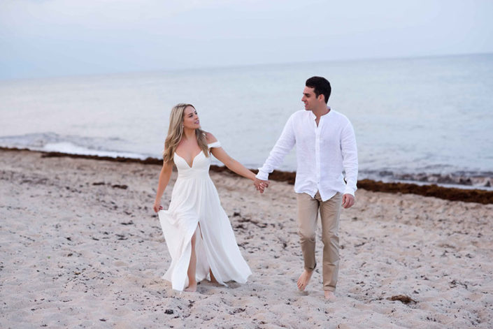 Debra Somerville Photography, Engagement Session in Delray Beach
